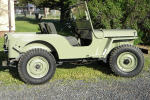 1948 Willys Jeep CJ-2A Full Frame-off restored
