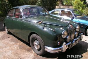 JAGUAR Mark 2 - Mk 2 - Manual with Overdrive- Sold