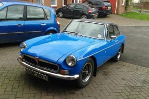 1979 MG BGT full nut and bolt restoration
