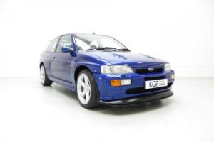 An Outstanding Ford Escort RS Cosworth with Just 34,919 Miles and Full History