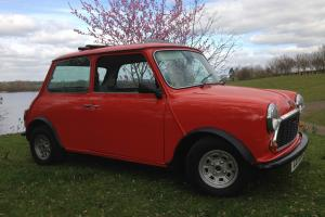 Austin Mini 1981 full sunshine pullback roof 1000cc excellent condition ORANGE
