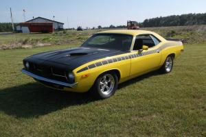 Plymouth Cuda 1973 Matching Numbers Car