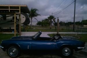 british 1968 Triumph Spitfire mk 3 Photo