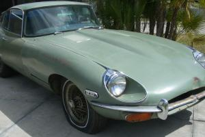 Jaguar E Type FHC LHD Photo