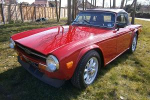 Triumph TR6, full professional restoration, upgraded