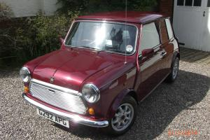 Rover Mini Thirty Anniversary Edition 1989 Photo