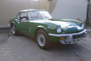 TRIUMPH SPITFIRE OVERDRIVE MOT UNTIL 15.02.15 WATCH THE VIDEO
