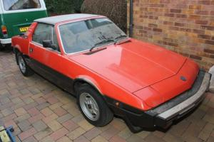 1983 FIAT X1/9 VS RED Bertone - Garage/Barn find - Just 29,000 miles - Original