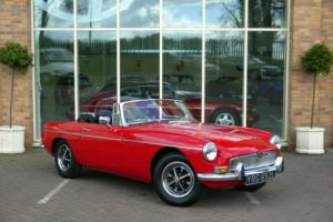 MGB Roadster. 1972 Stunning Car With Overdrive