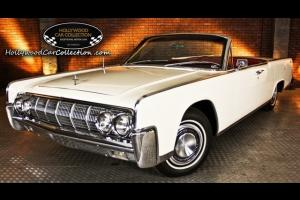 1964 Lincoln Continental Automatic 2-Door Convertible