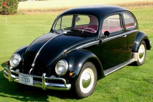 This is the last model with the oval rear window - Rare