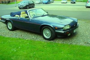 1989 F REG JAGUAR XJ-S V12 CONVERTIBLE AUTO Photo