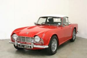 1963 Triumph TR4 - Total Nut & Bolt Restoration - One Of The Best Available