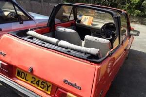 Extremely rare Talbot Samba Cabriolet classic car, hard to find another anywhere