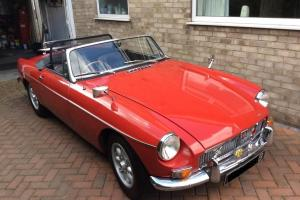 1964 MGB ROADSTER - TARTAN RED- WITH OVERDRIVE - FULL MOT TAX