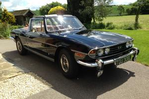 Triumph Stag 1972 original Mk1 Triumph V8 engine, black, just 5 owners, 45k mile