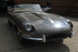Jaguar E-type S1 1/2 LHD Roadster