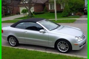 Mercedes-Benz : CLK-Class CLK350 Convertible Coupe with LOW MILES