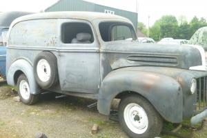 1946 Ford Panel Van,Hotrod,Ratrod,Custom.