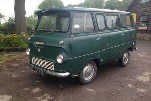 Ford thames 400e mini bus van. fitted with consul engine runs and drives.