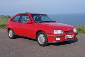 VAUXHALL ASTRA GTE 2.0 8V FULL RESTORED READY TO SHOW 80S ERA OLD SCHOOL CLASSIC