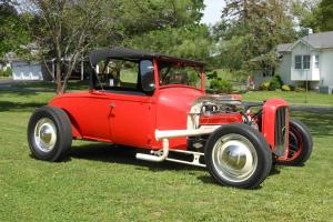 """1929 ford roadster w/ 1932 grill """"ALL STEEL"""" nostalgic"""