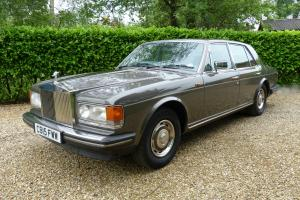 Rolls-Royce Silver Spirit 6.8 Auto 1986 C Reg in Dark Oyster (Grey) Photo