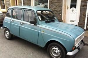 Renault 4 TL 12 months MOT and Tax excellent example