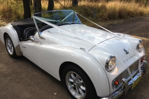 Triumph TR3A in Cessnock, NSW Photo