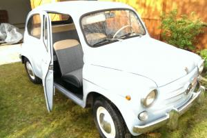 1960s Fiat 600 Seicento with suicide doors