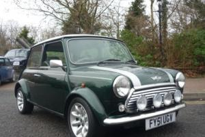 2001 Rover Mini Cooper Sport in British Racing Green. 51 reg!