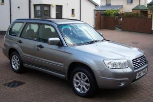 2007 (57) SUBARU FORRESTER XC 2.0 MANUAL AWD, URBAN GREY METALLIC Photo