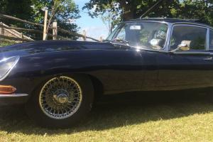 1967 series 1 FHC 2+2 E-Type Jaguar Photo