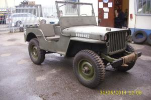 willys jeep 1948