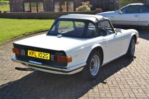 1969 Triumph TR6 150bhp manual overdrive fully restored