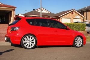 Mazda 3 MPS 2006 5D Hatchback 6 SP Manual 2 3L Turbo Mpfi 5 Seats