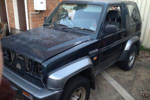 Daihatsu Feroza SX II 1994 $1 NO Reserve NO Engine Great Parts Project Wreck in Riverwood, NSW