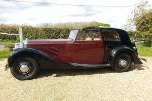 1938 Bentley 4 1/4 litre Brougham de Ville by James Young Photo