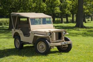 1943 Willy's Jeep MB LRDG SAS recreation