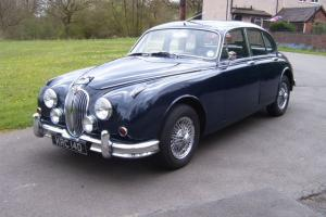 1966 JAGUAR MK II BLUE Photo