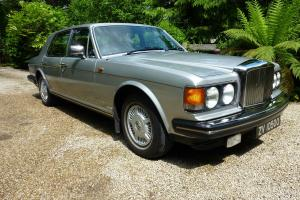 Bentley Mulsanne Turbo 1984. Jack Barclay maintained £60K of invoices. Beautiful