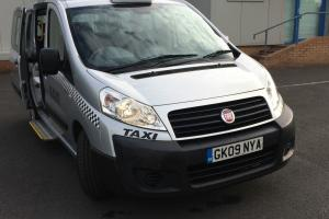 2009 TAXI FIAT SCUDO COMBI 90 M-JET 5S GREY ONE OWNER FROM NEW F.S.H