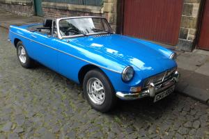 MGB ROADSTER 15,000 ORIGINAL MILES £8,995