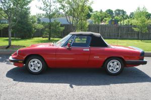 ALFA ROMEO SPIDER, CLEAN RUNS SUPER,CONVERTIBLE, NO RESERVE