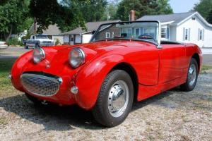 1961 Austin Healey Bugeye Sprite Convertible- Beautiful Inside/ Out-Runs Perfect