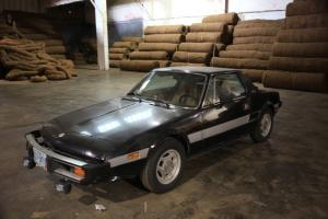 1978 Fiat X-1/9 Base Coupe 2-Door 1.3L