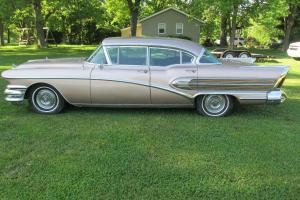 1958 BUICK ROADMASTER 75 RUNS GREAT # MATCH RUST FREE ALL OPTIONS SEE VIDEOS