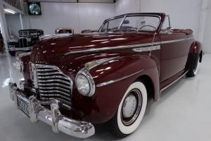 1941 BUICK SERIES 50 SUPER 8 CONVERTIBLE COUPE, POWER TOP, STUNNING!!