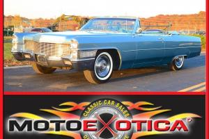 1965 Cadillac DeVille Convertible, Fully Loaded, Same owner for 17 Years!