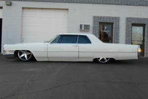 1965 Cadillac Coupe Deville Bagged! Air ride!Outstanding!!LOOK!Rebuilt mtr.Trans